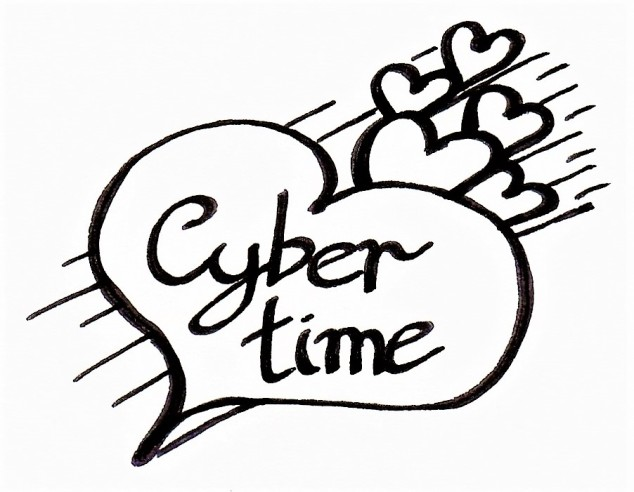 cybertime stickers (4)
